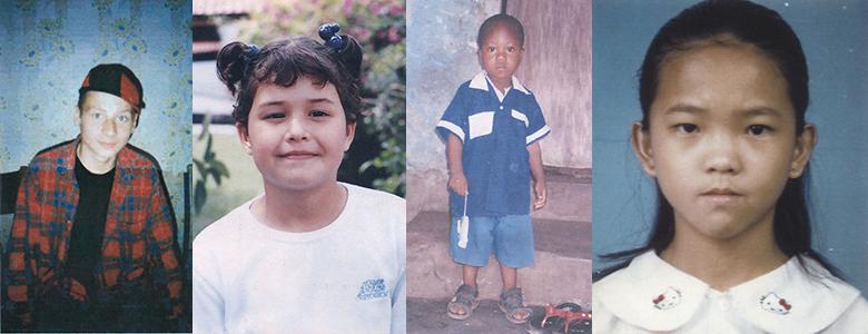 L'adozione decennale a distanza di altri quattro bambini