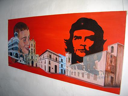 """La donazione al Museo """"Jesus Suarez Gayol y Carlo Giuliani"""" a Camaguey (Cuba)"""