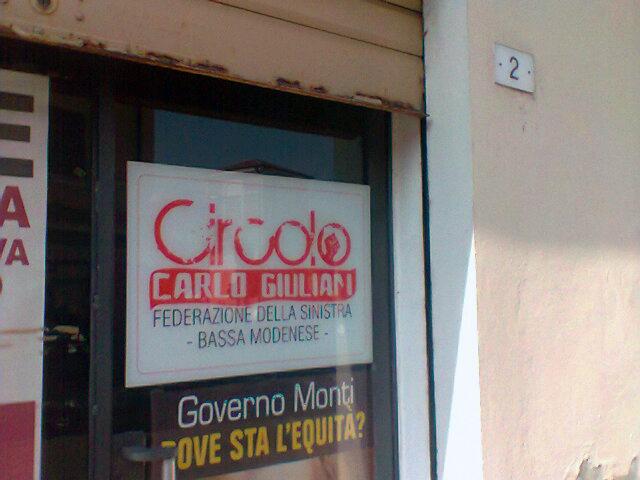 Donazione al Comune di Cavezzo (MO) per la ricostruzione della Biblioteca danneggiata dal terremoto