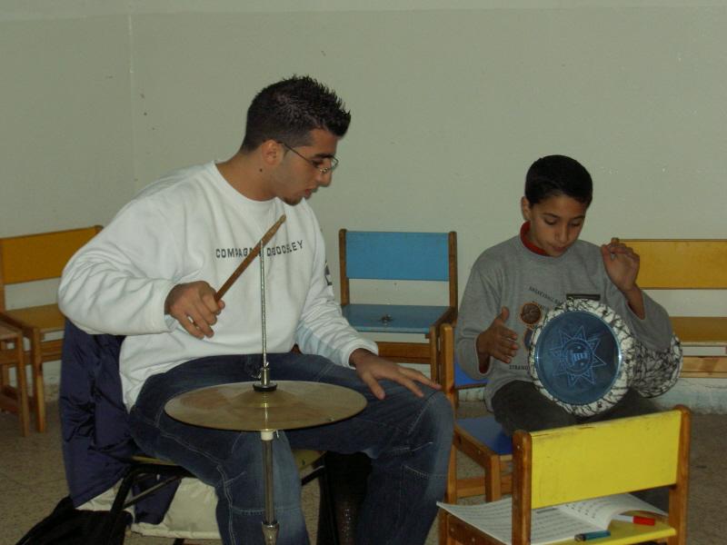 Il contributo per la realizzazione di una scuola popolare di musica a Ramallah, in Palestina