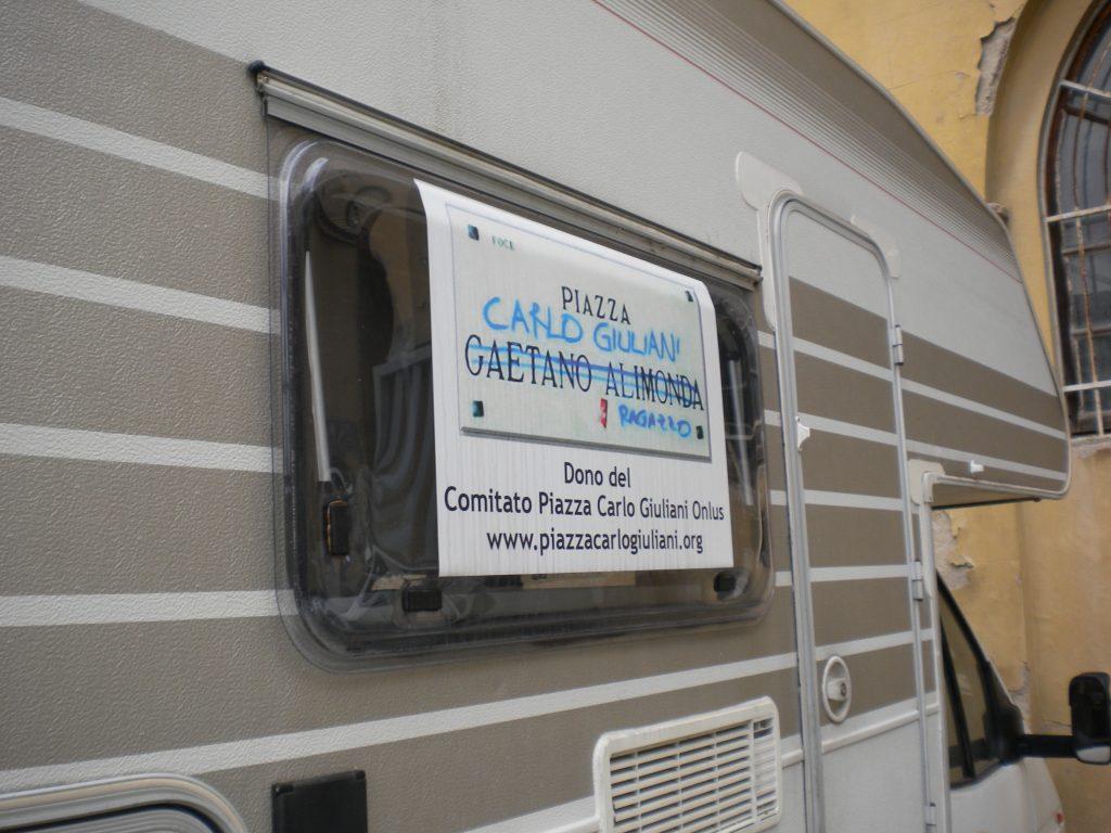 Il Camper per l'assistenza dei senza fissa dimora a Firenze