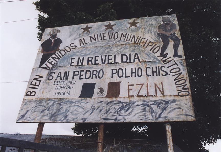 La donazione al Municipio autonomo rebelde di Polhò, Los Altos del  Chiapas (Messico)
