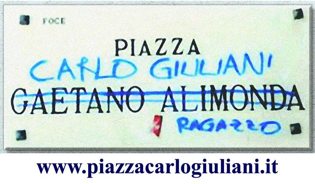 Genova, Piazza Alimonda – 20 Luglio 2020