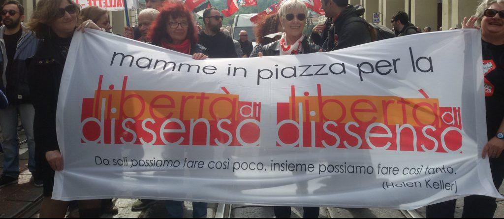 """""""Aparicion con vida!"""" per Dana, Nicoletta, Eddi e i/le giovani antifascisti/e"""