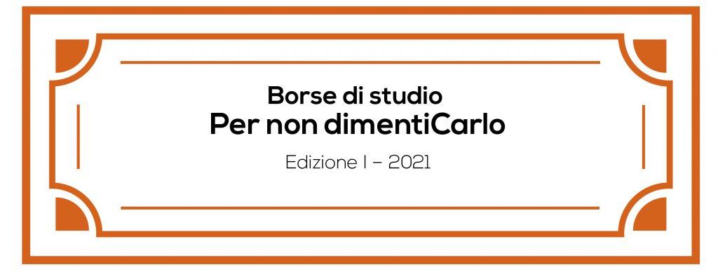 Borse di Studio 2021
